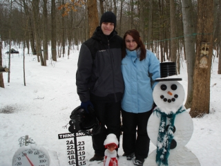 Mathew Lindsey and Kelsey Anderson from Fairborn, Ohio 12-30-08