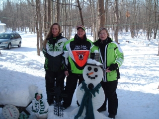 Marcia, Leslie, and Anne, from Mt. Pleaseant, MI Janurary 16, 2010