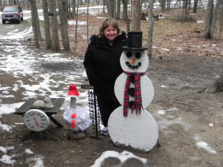 Julie Fox from Luckey, Ohio. Picture taken by her husband John on their anniversary 1-1-11.