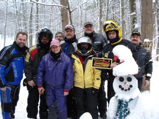 Members of the PA Snowseekers Snowmobile Club from near Pittsburgh Pennsylvania. 2-5-08