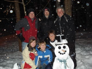 John, Susan, Fred, Robert & Mckenzie Thompson from Wayne MI. Brandon Marriott from Waterford Michigan. 1-17-09